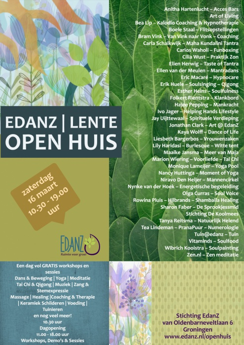 4dd256a5e2 Edanz Groningen, centrum voor bewustwording & ontwikkeling.